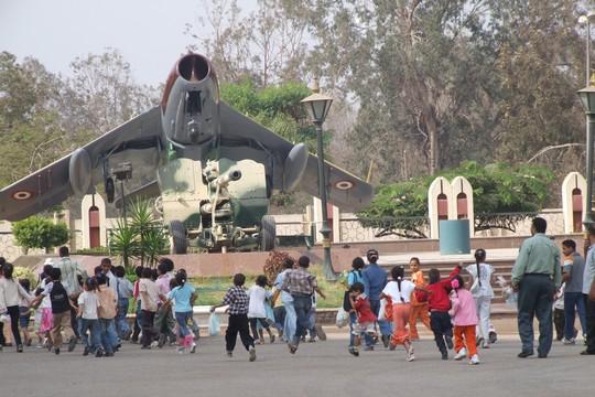 מטוס רוסי במוזיאון מלחמת השישי באוקטובר / יום כיפור, קהיר (חגי מטר)