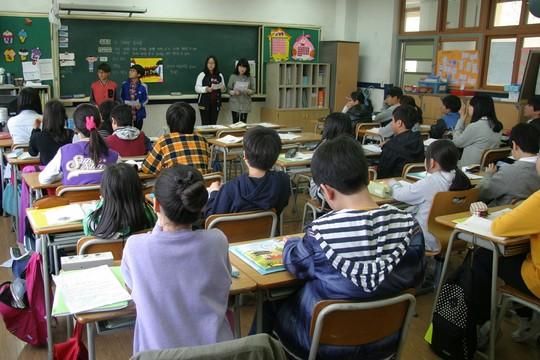 תלמידים בכיתה. אילוסטרציה