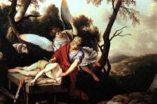 פרשת וירא: עקדת יצחק (לורן דה להיר, 1650)