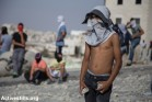נערים מתעמתים םע המשטרה, עיסאוויה, מזרח ירושלים (פאיז אבו-רמלה / אקטיבסטילס)