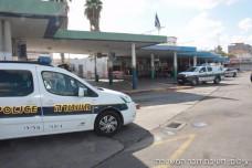 תחנת האוטובוס בעפולה (דוברות המשטרה)
