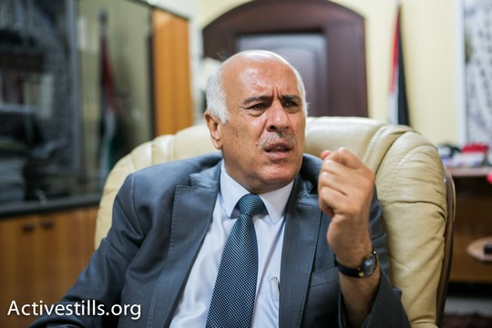 """ג'יבריל רג'וב, יו""""ר ההתאחדות הכדורגל הפלסטינית (יותם רונן/אקטיבסטילס)"""