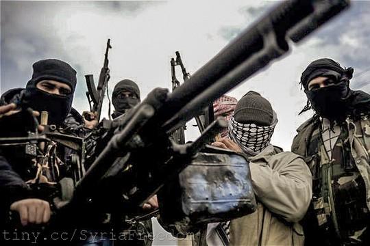 לוחמי צבא סוריה החופשי, 2012 (Freedom House CC BY 2.0)