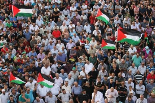 אלפים הפגינו בסכנין: נגד מדיניות הממשלה, נגד שימוש באלימות