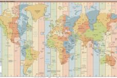 אזורי הזמן בעולם (TimeZonesBoy CC BY-SA 4.0)
