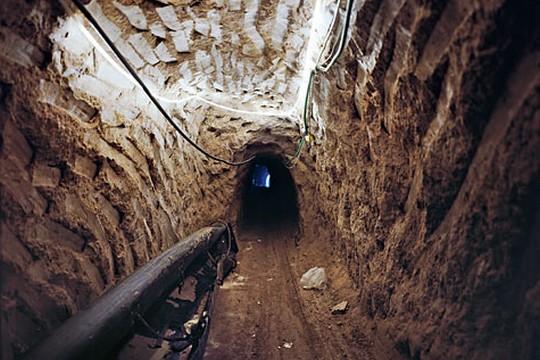 מנהרה תת קרקעית מעזה למצרים