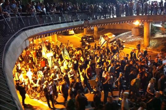 מחאת הגז ברחוב דיזנגוף (חגי מטר)