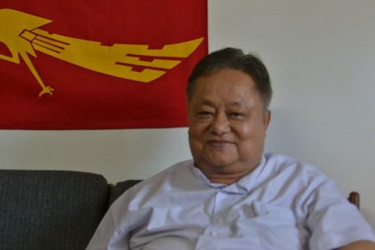 או ווין טן, בכיר הליגה הלאומית לדמוקרטיה (רחל בית אריה)
