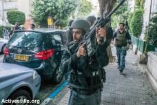 המשטרה פושטת על דירות של צעירים ערבים בחיפוש אחר היורה מדיזינגוף