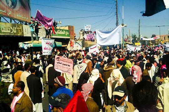 הפגנות האביב הערבי בצנעא, אביב 2011 (Sallam from Yemen CC BY-SA 2.0)