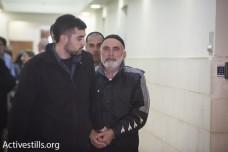 עזרא נאווי מובל לדיון הארכת מעצר בבית המשפט המחוזי ירושלים (אורן זיו / אקטיבסטילס)
