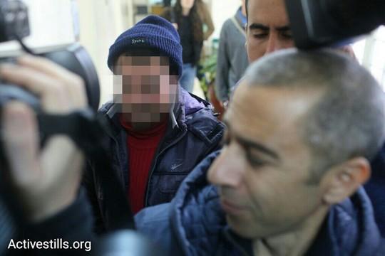 פעיל זכויות אדם שנעצר וששמו נאסר לפרסום מובא לדיון (אורן זיו/אקטיבסטילס)