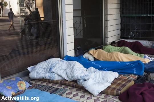 עוני: חסרי בית בתל אביב, 2011 (אורן זיו / אקטיבסטילס)