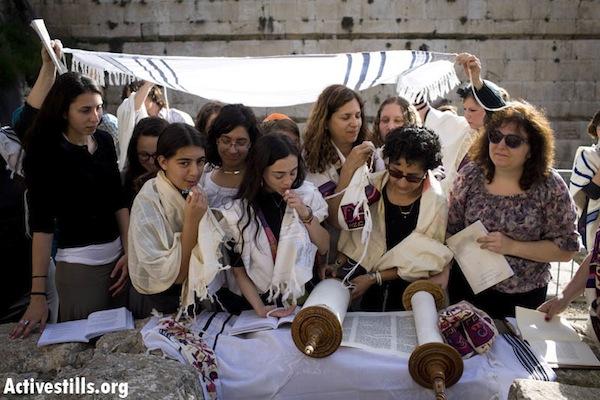 תפילה של נשות הכותל, 2013 (אורן זיו / אקטיבסטילס)
