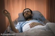 """שובת הרעב מחמד אלקיק: """"אני עיתונאי, והמעצר שלי לא חוקי"""""""