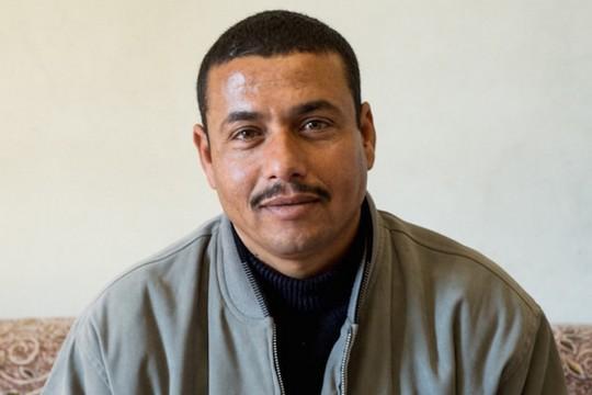 חאתם אבו זיאדה (תמונה באדיבות ארגון העובדים מען)