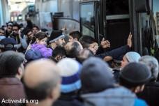 נוהרים באוטובוסים: יומיים של יציאה המונית מעזה למצרים