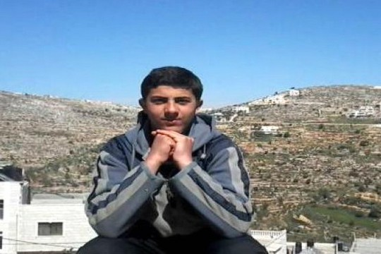 חמזה חמאד, העציר המנהלי הצעיר ביותר (מתוך דף הפייסבוק של הכפר סילוואד)