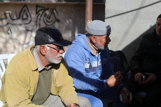 אביו של יונס אלבוריים ודודו (צילום: כארים אבו סמרה, באדיבות אתר We Are Not Numbers)