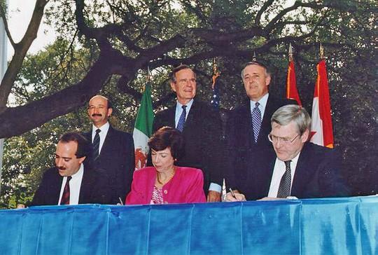 """מעמד החתימה על הסכם נאפט""""א"""