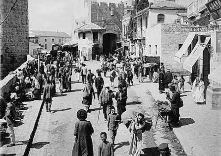 שער יפו, סוף התקופה העות'מאנית