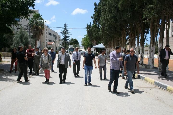 משלחת אקדמאים ישראלים באוניברסיטת כדורי, טול כרם (חגי מטר)