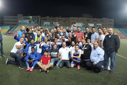 הילאל אלקודס. האם יביאו הערב גביע לירושלים (צילום: מוחמד ע'ית')