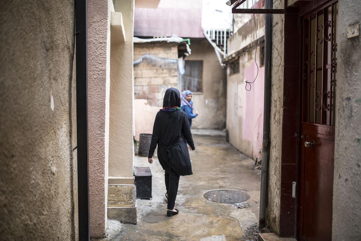 פליטים בלבנון: איה, מחנה אל-ג'ליל (אן פאק / אקטיבסטילס)