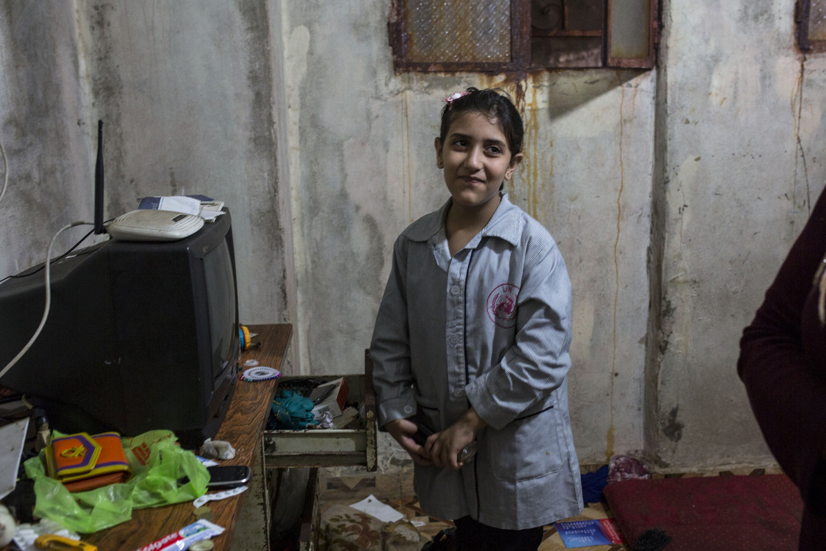 פליטים בלבנון: לובנה, מחנה הפליטים שתילה (אן פאק / אקטיבסטילס)
