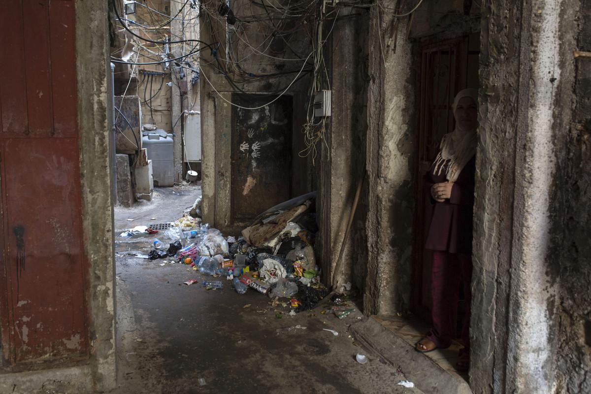 פליטים בלבנון: מחנה הפליטים שתילה (אן פאק / אקטיבסטילס)