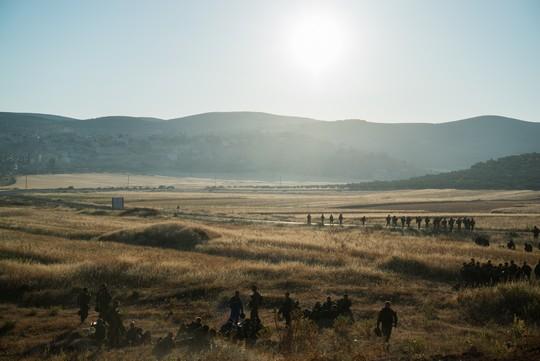 חיילים במהלך פעולה בשכם, מאי 2016 (צילום: פלאש90)