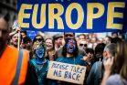 הפגנה בלונדון נגד היציאה מהאיחוד האירופי (Garon S CC BY-NC-ND 2.0)