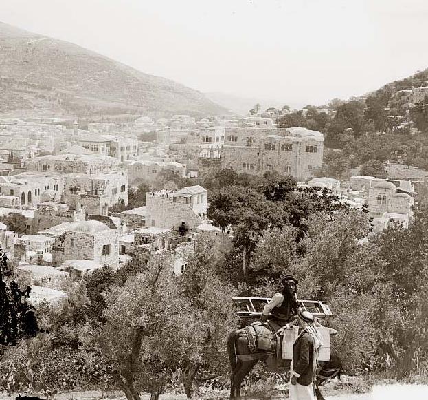 שכם, 1898