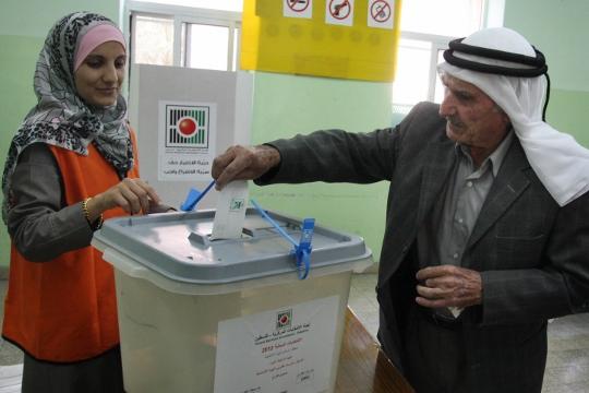 הבחירות המקומיות בגדה המערבית, 2012 (עיסאם רימאווי / פלאש90)