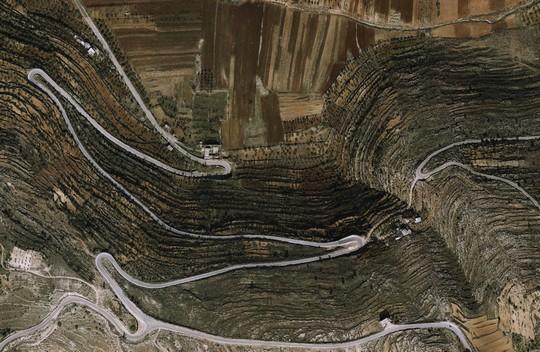 פיתולי א-לובן (צילום מסך google earth)