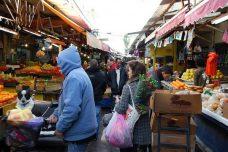 שוק הכרמל (אילוסטרציה: Noam, Jemima & Lila CC BY 2.0)