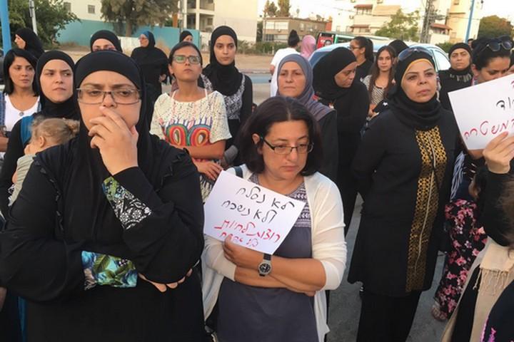 הפגנת נשים בלוד (גסאן מונייר)