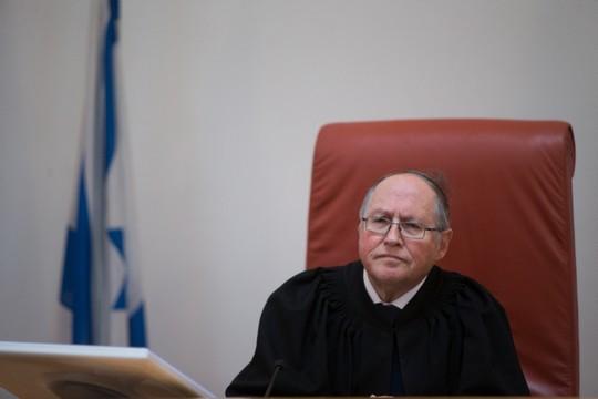 שופט העליון, אליקים רובינשטיין (יונתן סינדל / פלאש90)