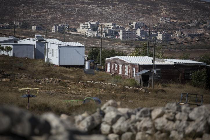 מאחז עמונה שחוק ההסדרה מבקש להלבין על חשבון שלוש חמישיות בני האדם שחיים בשטחים (צילום: הדס פרוש/פלאש 90)