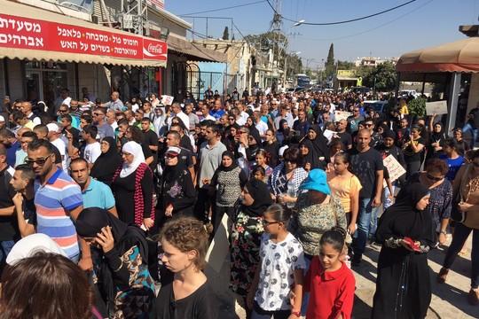 הפגנה נגד רצח נשים, לוד (חגי מטר)