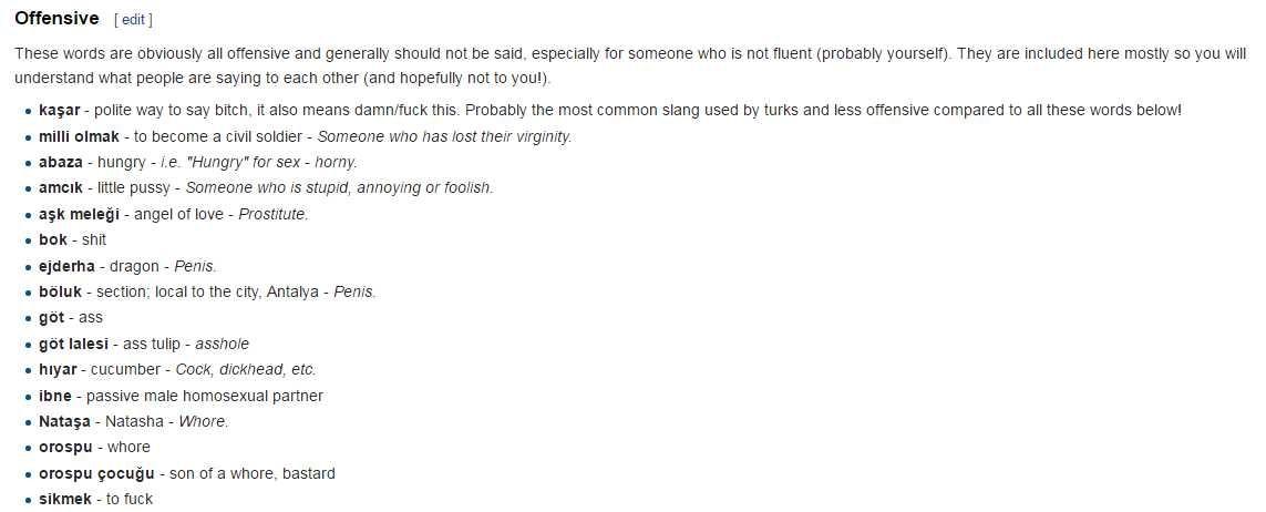 """באתר wikibooks.org ברובריקת """"מילות סלנג מעליבות בטורקית"""" ניתן למצוא כי משמעות מילת הסלנג """"נטאשה"""", היא """"זונה"""""""