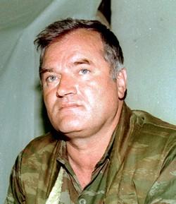 הגנרל הסרבי ראטקו מלאדיץ' (צילום: מיכאיל אסטפייב)