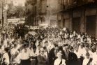 הלוויית הנערים בחיפה בשנת 1961