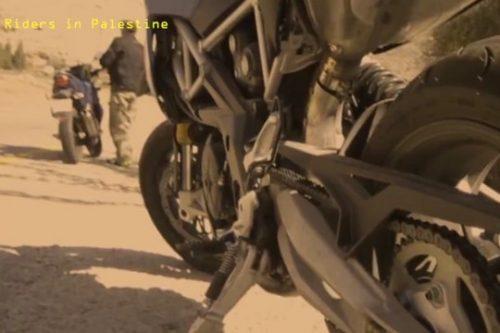 יומני האופנוע: הגשם הראשון לא מבחין בין נהג פלסטיני לישראלי