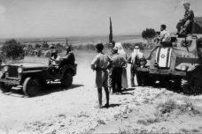 משטר צבאי בכפר קאסם (צילום: לשכת העיתונות הממשלתית)