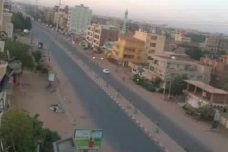 מרי אזרחי בסודאן. הרחובות ריקים