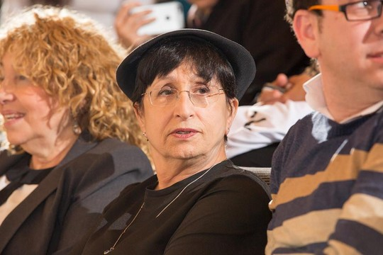 """הרבנית עדינה בר שלום בכנס """"נבחרות"""" (נעם פיינר)"""