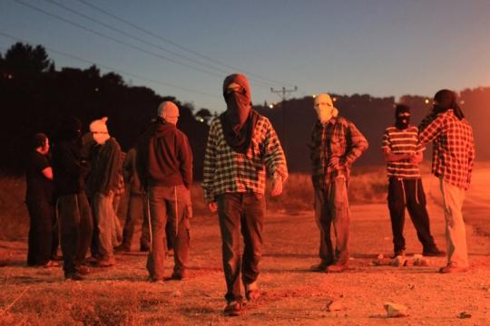 נוער גבעות בגדה המערבית (צילום: קובי גדעון, פלאש90)