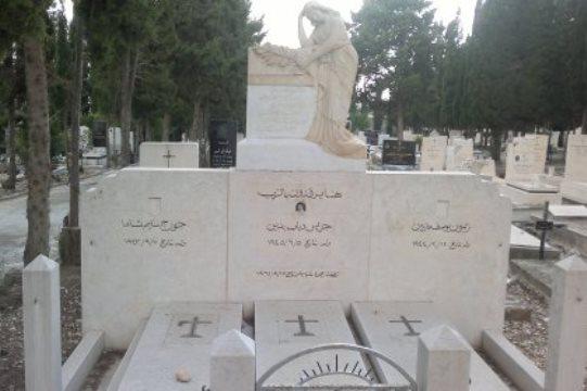 קבר שלושת הנערים בחיפה, למרות התנגדות הכנסייה (צילום: אתר חיפה החופשית)