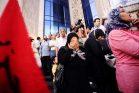 הפגנה על מדרגות בניין איגוד העיתונאים במצרים, 2011 (oxfamnovib CC BY-ND 2.0)